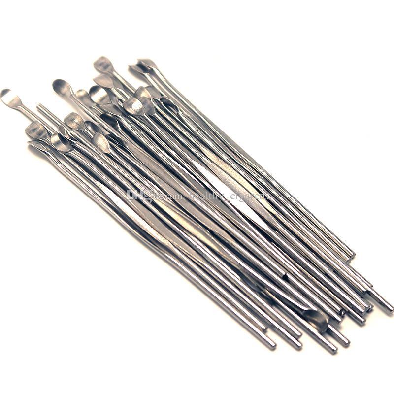 Stainless Steel Wax Dabber Tool Ego Evod Wax Ecig Dab Tool Titanium Nail Dabber Tool Dry Herb Vaporizer Pen Dabber