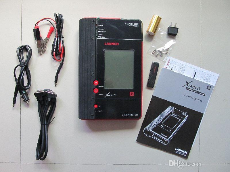 Aggiornamento originale x431 master iv auto diagnostico strumento di scansione aggiornamento on line gratis un anno di garanzia