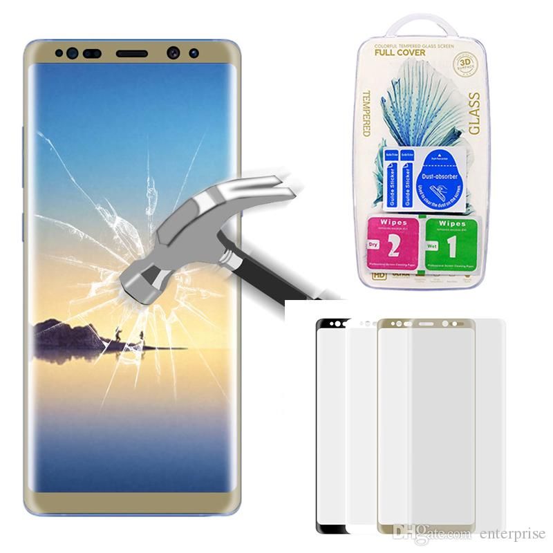 Best Price For Samsung Galaxy Note 8 Full Screen Cover 3d Curved