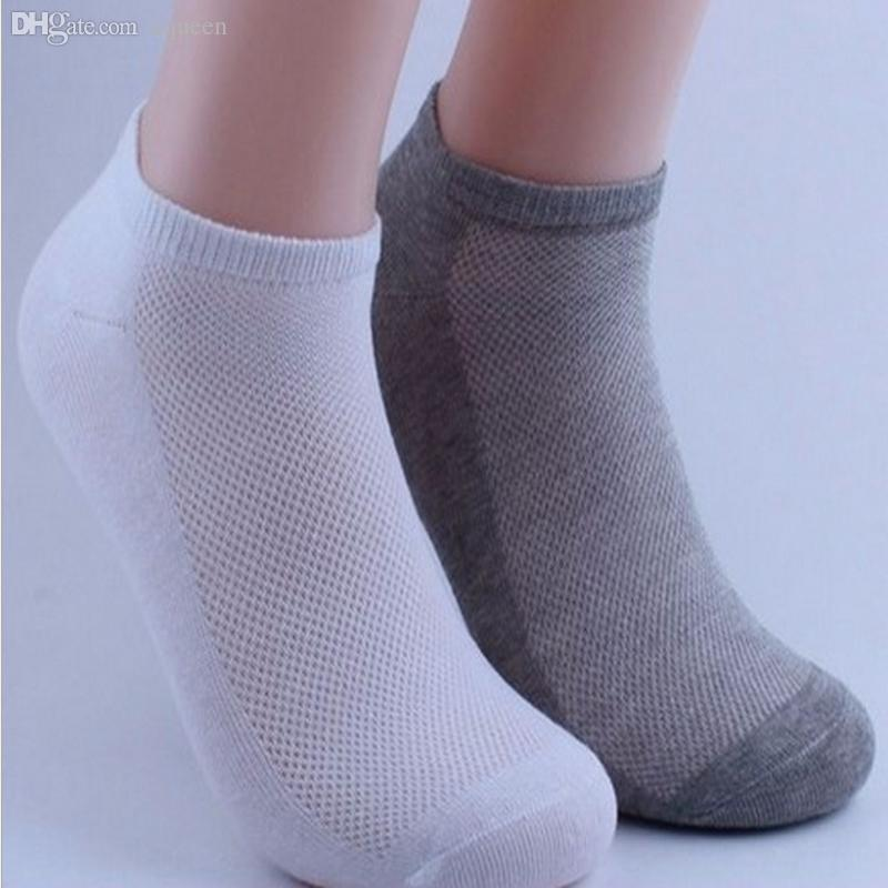 Underwear & Sleepwears Humorous 5pair Men Ankle Socks Brand Quality Polyester Summer Mesh Thin Boat Socks For Male White Black Gray Color Short Socks Calcetines