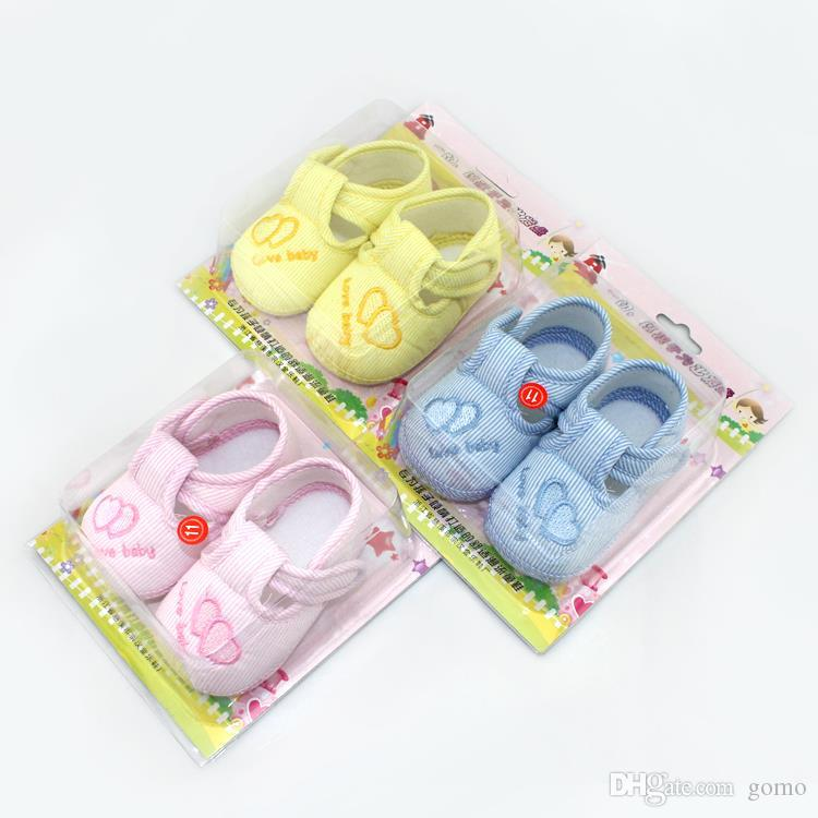 Baby Girl Shoes Lovely Baby Shoes Toddler Unisex Soft Sole Skid ... 74e4c3e0d2aa