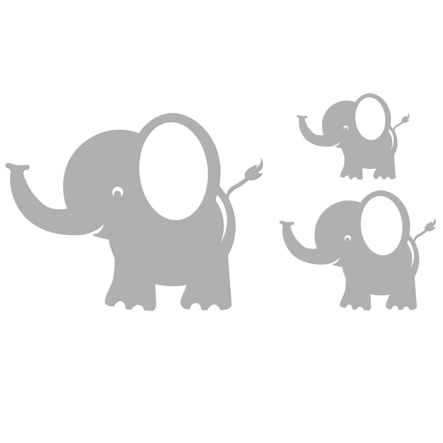 Baby elephant wall decal stacked elephants wall decal wall decal c bobee baby elephant wall decals for kids room decor nursery elephant wall decal amipublicfo Images