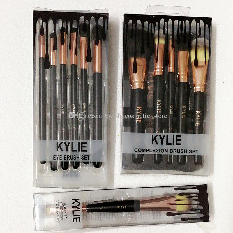 Kylie Jenner cosmetics Makeup Brushes foundation powder blush Makeup Brushes High Tech Make Up Tools Professional Makeup Brush set