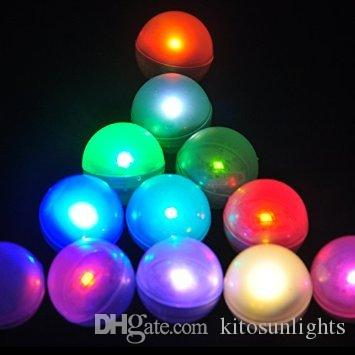 Multi-colors Fading Party Decoration Fairy Light UP Glowing Pearls LED Magical Balls 3/4inch Diameter 12pcs/ lot