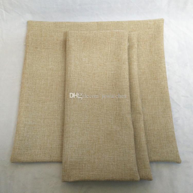 18 * 18 بوصة فارغة غطاء وسادة الكتان القطن انغلق رمي سادة القضية مع أي تصميم جودة عالية وسائد حالات diy 45 * 45 سنتيمتر