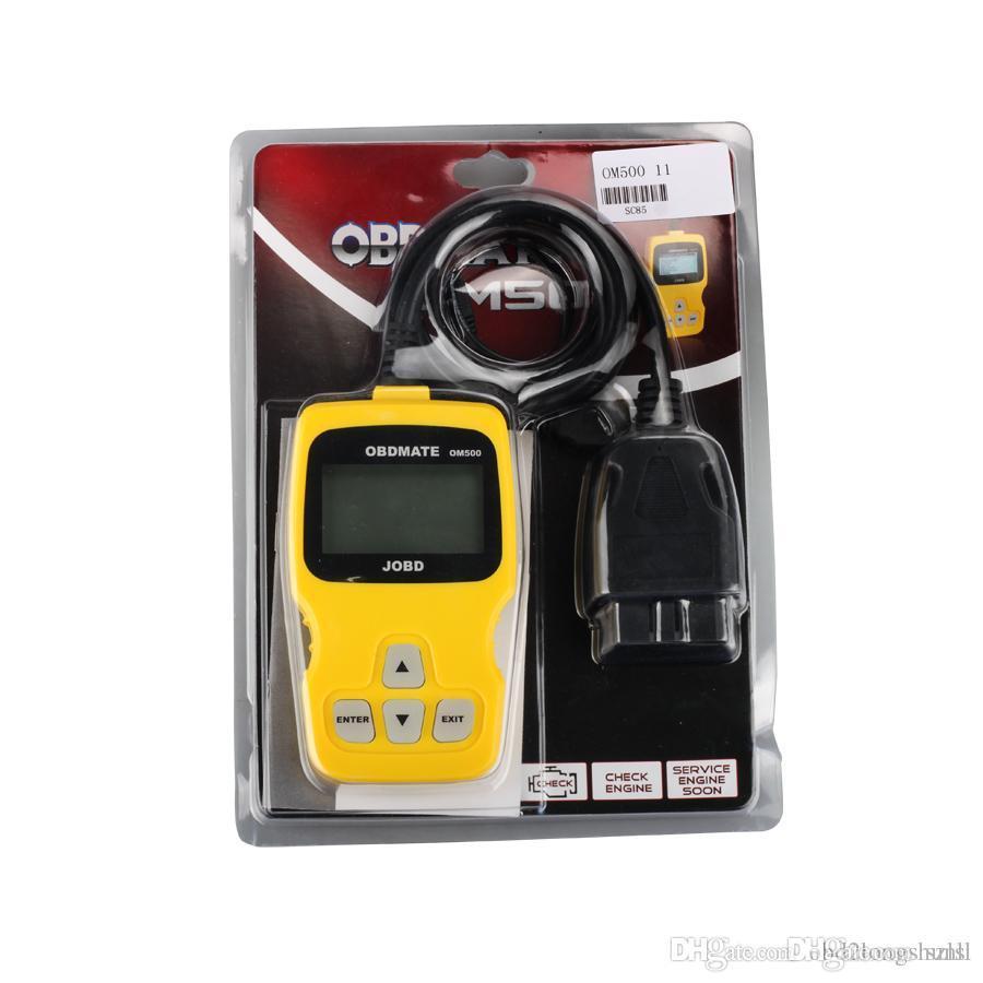 /2016 Good Quality OBDMATE OM500 JOBD/OBDII/EOBD Code Reader Auto Scanner BY DHL