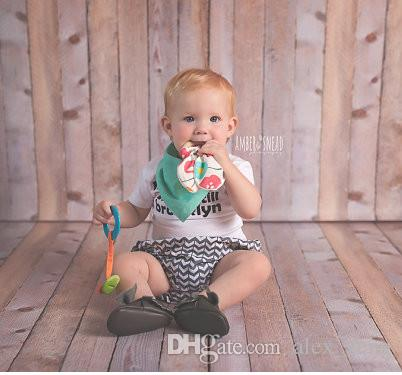 Anneau de sécurité bébé Teething environnement amical bébé Teether formation en bois Anneau de dentition Dentition dents Bouchées bébé enfant bâton