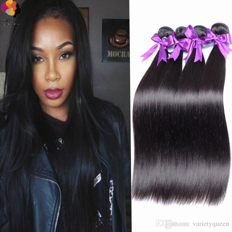 Original Hair Large Stock 4 Cheap Bundles Of Brazilian Straight
