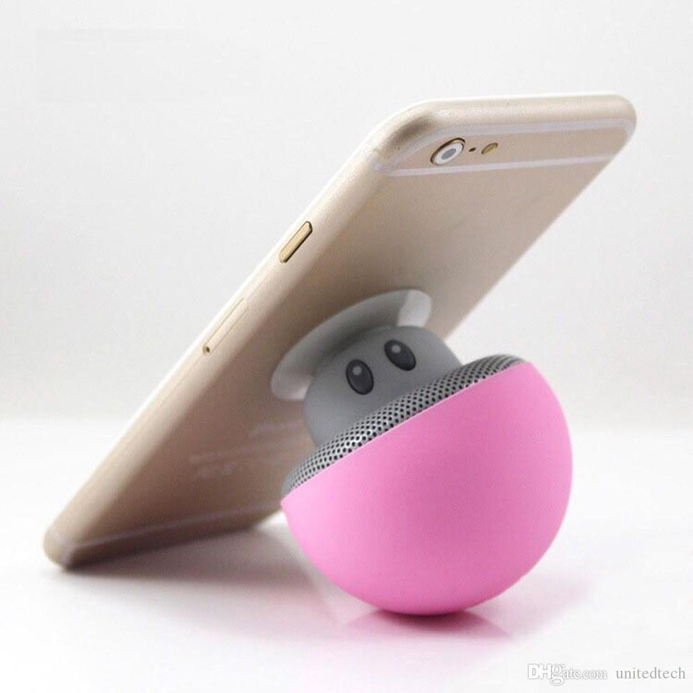Sem Fio Mini Speaker Bluetooth Speaker Cogumelo Portátil À Prova D 'Água Bluetooth Estéreo com Microfone Handfree para o Telefone Móvel do Computador iPhone