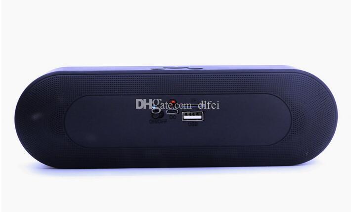 BT808NL New Pill 2 Mini Portable Wireless Bluetooth Speaker With Pulse LED Liht Flash Pill XL Speaker Bulit-in Mic Handsfree BT808L V318 Too