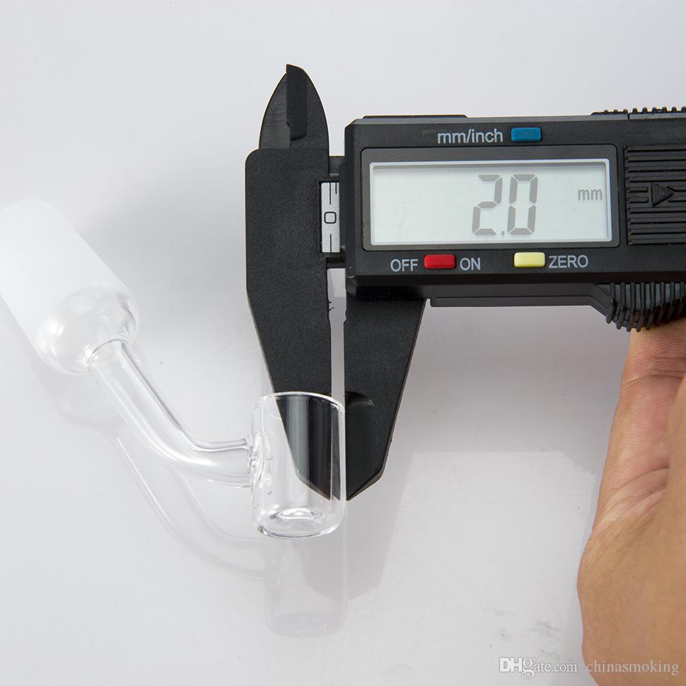 Quartz Dica Quartz prego por NC kits 10 milímetros 14 milímetros 18 milímetros Masculino Joint Quartz Banger prego Banger prego