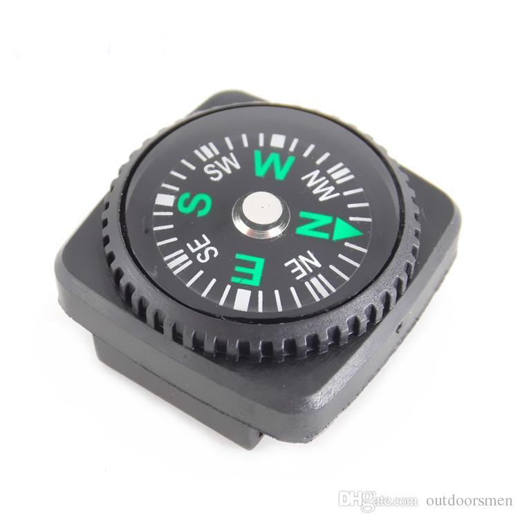 Portátil MINI Compass Preciso para Pulseira Paracord Camping Caminhadas Navegação Norte