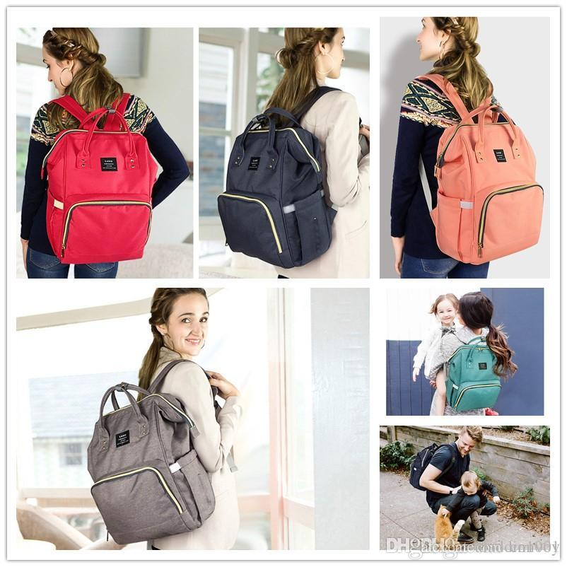 068083e125d Mommy Bags Nappy Backpacks Mother Fashion Backpack Diaper Bags Maternity  Large Volume Outdoor Travel Bags Organizer with Changing Mat MPB01