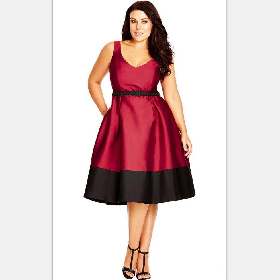 2016 Wine Red Elegant Short Style Cocktail Dresses Brand New Plus ...