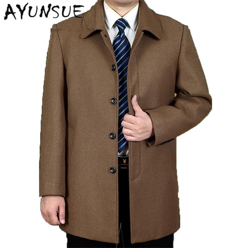 brown wool trench coat mens tradingbasis