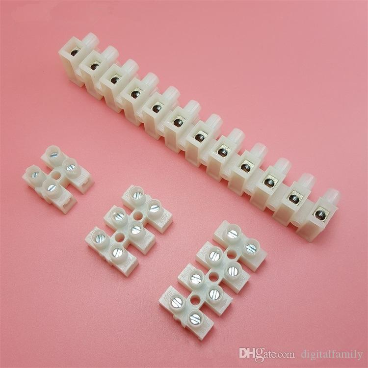 Connector Strip 12 Way 3,5,10,30,60 AMP Electrical Wire Choc Block Terminal Cable Car