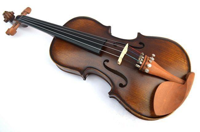 V303 Violín de abetos de alta calidad 3/4 Violín de instrumentos musicales Violín de instrumentos musicales Cuerdas de arco de violín