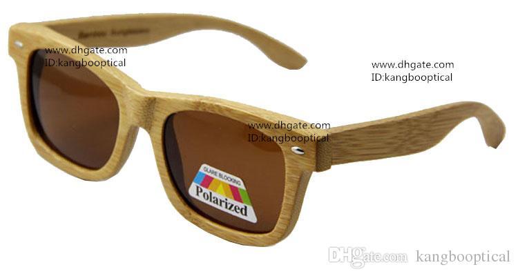 Yeni Yüksek Kaliteli Ağaç Güneş So Real Bambu Ahşap Sunglases Erkekler Kadınlar Polarize Gözlüğü Sürüş Gözlük Retro Gölge UV400 koruması CE