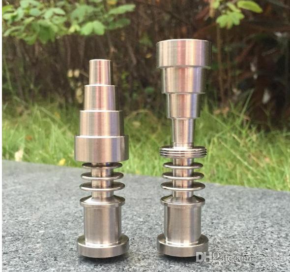 Electronic Dabber Nail Heating Coil Free DHLTitanium Adjustablev Titanium Nail Grade 2 Titanium For 16mm 20mm heater coil GR2 Ti Nails
