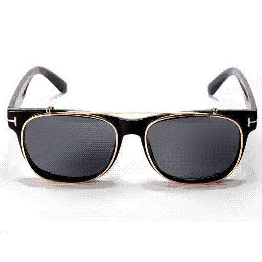 91b0c2f6e56e Sunglasses Men Vintage Steampunk Clip ON Shades Flip Up Sunglass Spectacles,  Reflective Mirrored PUNK Sun Glasses Women 4309 Discount Sunglasses Sports  ...