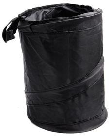 2017 Wholesale Travel portable folded car trash bin large Capacity Lid Foldable Car storage garbage bags