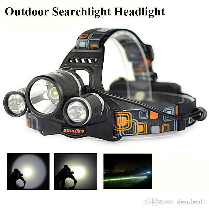 Zoom Scheinwerfer Led Scheinwerfer Einstellen Fokus Licht Kopf Lampe 1000 Lumen Xm-l T6 Led Taschenlampe Angeln Jagd Lampe Um Jeden Preis Tragbare Beleuchtung Scheinwerfer