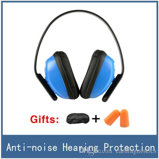Cardiagnostics Brand New Anti-noise Tactical Hearing Protection Headset Ear Protector Muff , Reduce Sleep Noise Earmuffs , Deltaplus 103010