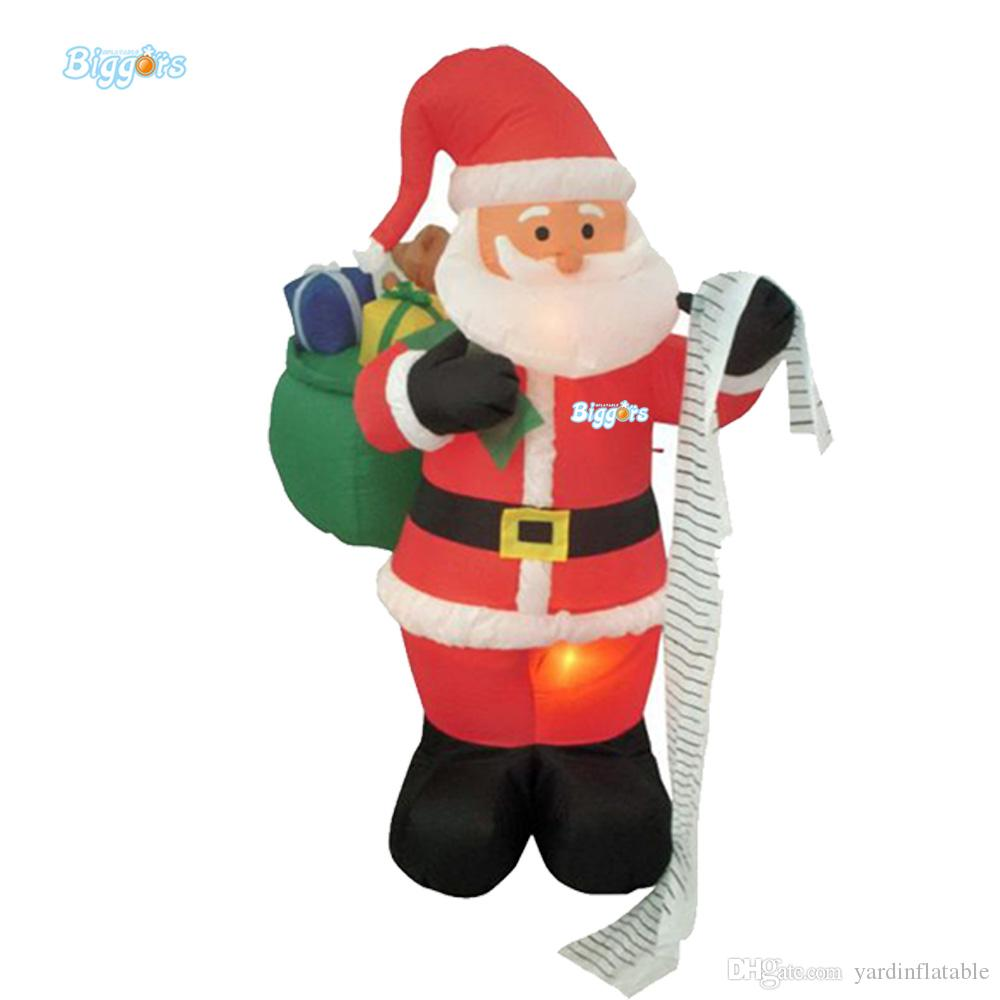 Cheap Price Christmas Decorations Inflatable Santa Clause Character