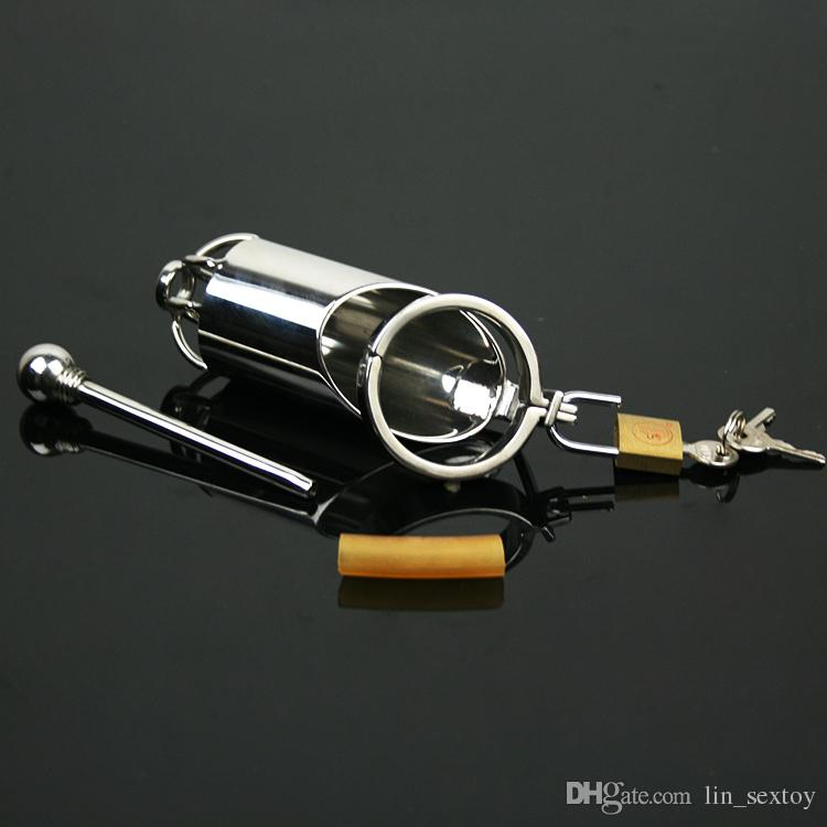 5 Snap ring Male Chastity Device Belt Stainless Steel Cock Cage Bicyclic Metal Crafts Adult Sex Toys Restraint Bondage gear