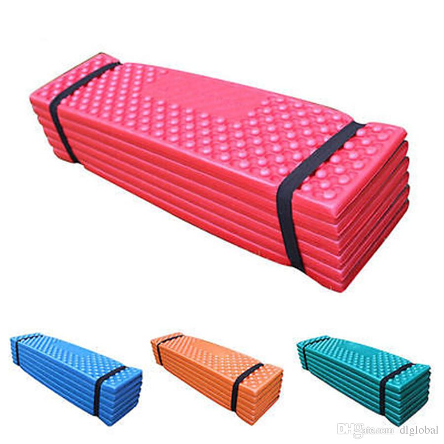 Ultralight Foam Camping Mat Folding Beach Tent Sleeping Pad Waterproof  Mattress Moisture Barrier Mat