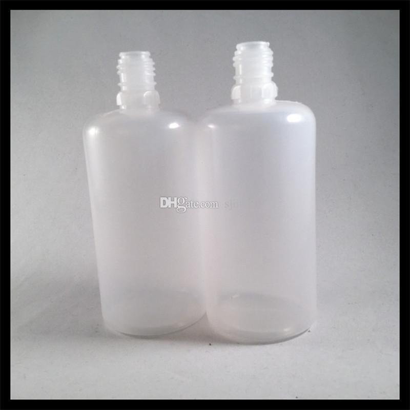 100ml Plastiktropferflasche für e Flüssigkeit mit Nadelspitze und kindersicherer Schutzkappe für E-Zigarettensaft