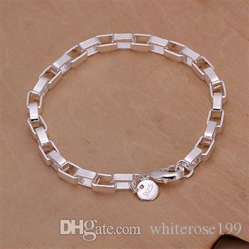 Commercio all'ingrosso - prezzo più basso regalo di Natale 925 Sterling Silver Fashion Necklace + Earrings set QS085