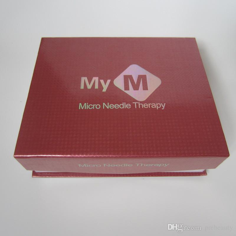 2 adet Kartuşları ile elektrik Derma Kalem Otomatik Mikro Iğne Silindiri Anti Aging Cilt Terapi Değnek MYM derma damga kalem
