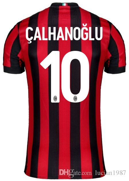 Maillot Domicile AC Milan RICCARDO MONTOLIVO