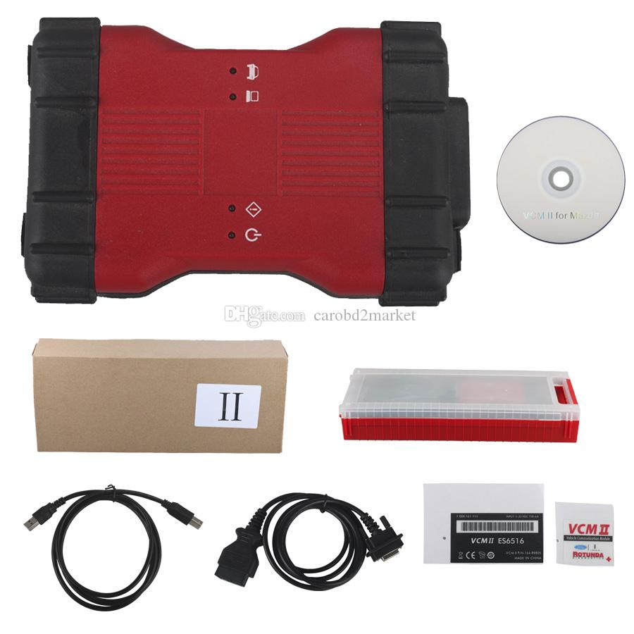 Best Quality For Ford VCM II 2 In 1 Diagnostic Tool For Ford IDS V106 And  For Mazda IDS V106 Diagnostic Equipment Automotive Diagnostic For Car From