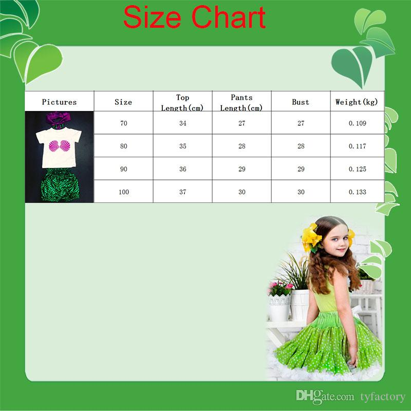 2016 new arrival summer fashion style sequined green short pants lovely pink fish white t-shirt with handbands baby girls clothes suits
