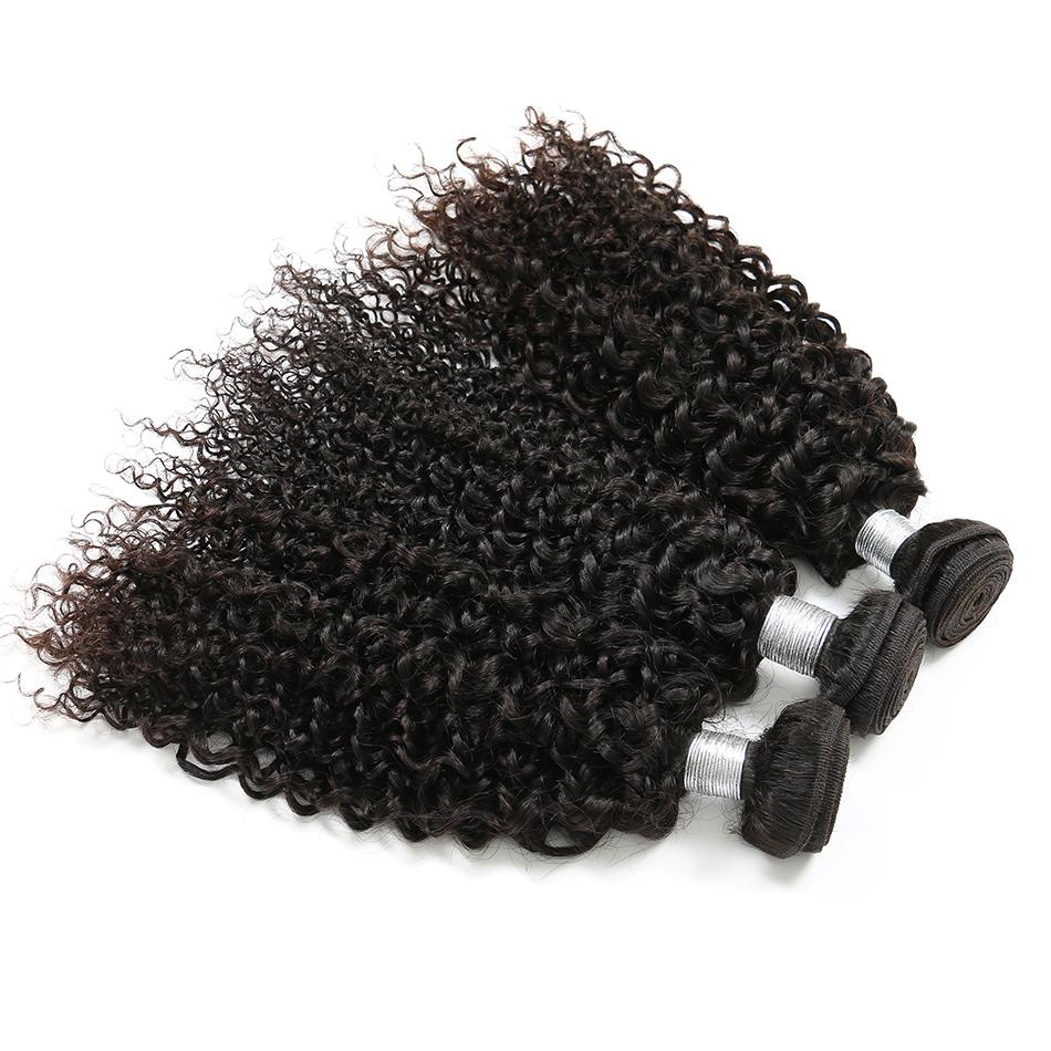 Brasilianische Reine Haarkörperwelle Verworrenes Lockiges Gerades Haar Bundles 100% Menschenhaar Spinnt Natürliche Farbe 8-26 Zoll Kann Kaufen 3/4 Bundles
