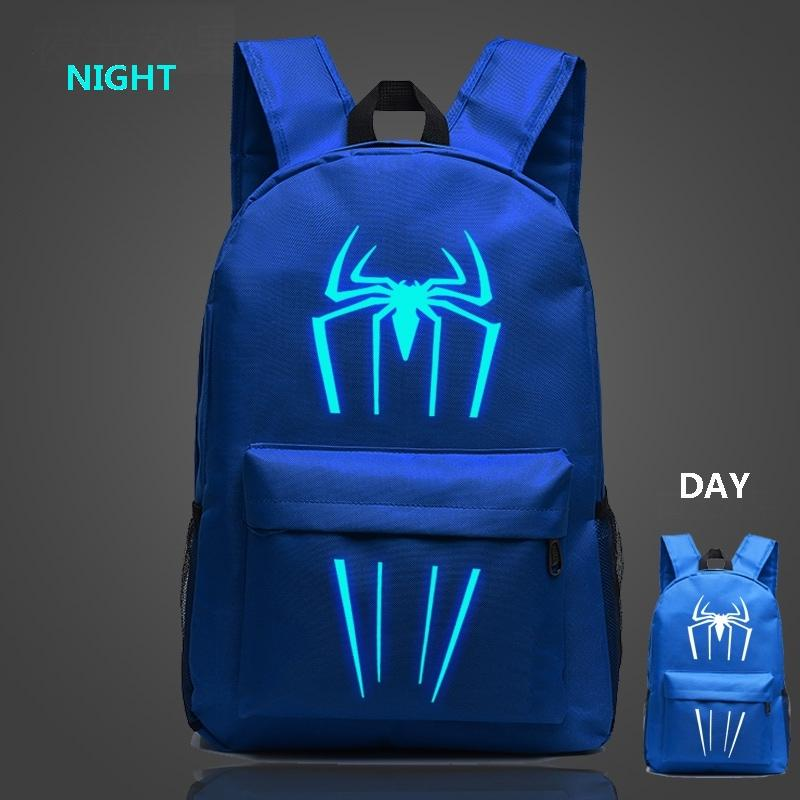 spiderman backpacks kids backpack black for teenagers boys