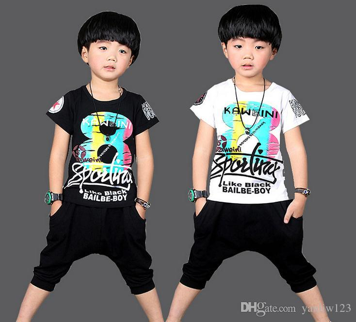 521c4e137 2019 Hot Sale Summer Kids Boys T Shirt Shorts Set Children Short Sleeve Shirt  Clothing Set Kids Boy Sport Suit Outfit From Yanliw123, $16.46 | DHgate.Com