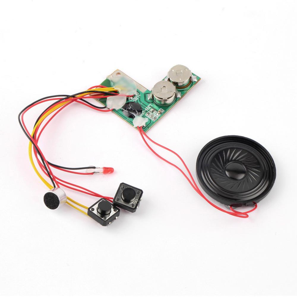 Sound Recordable Voice Module For Greeting Card Music Sound Talk