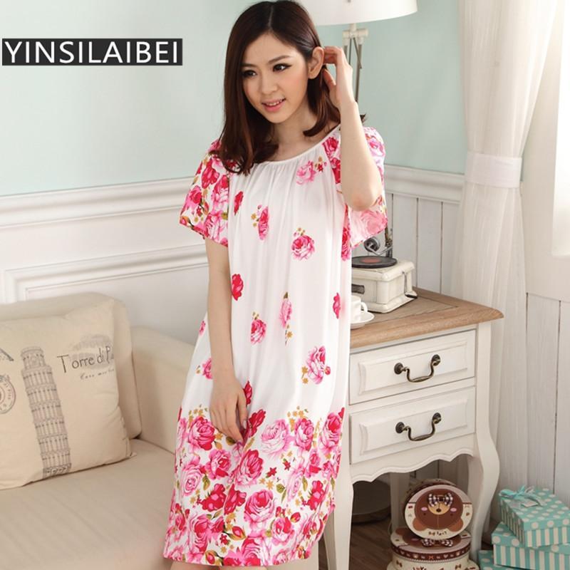 2018 Wholesale Summer Short Sleeve Dressing Gown Long Satin ...