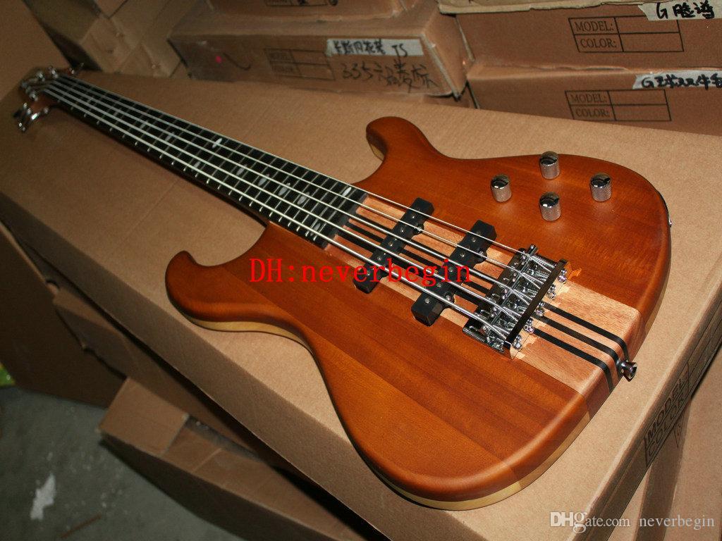Yüksek Yepyeni Geliş 5 Strings Ahşap Elektrik Bas İyi Müzik aletleri SICAK