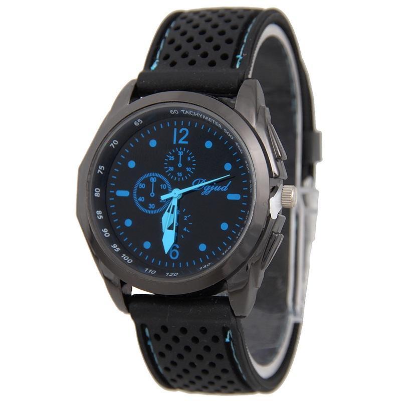d39d6485895 Compre Unisex Preto Silicone Relógio Esportes Mens Mulheres Relógios Moda  Geléia De Borracha De Quartzo Relógios De Pulso Casuais Para Homens De  Bhry1688
