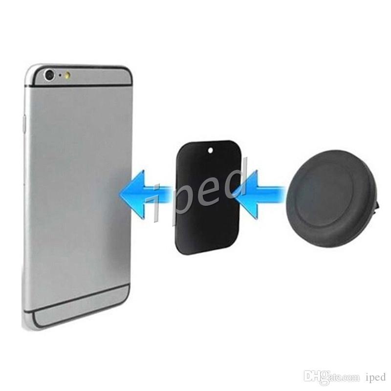 Billigste Magneten Haltewinkel-Universalmagnetautomatik-Entlüftungsöffnungs-Halter-Anschluss-Berg für iPhone Samsung-Handy-Halter-Halter DHL geben frei