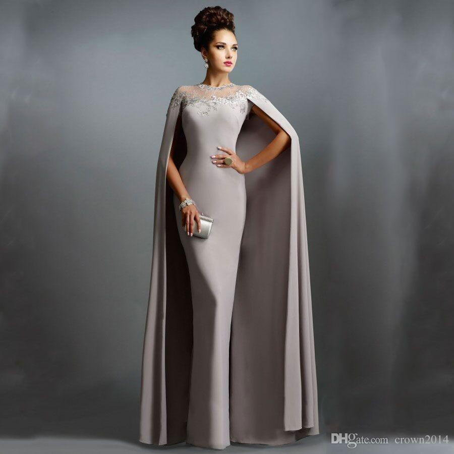 Элегантные длинные вечерние платья русалки с накидкой иллюзии шеи джинные платья новая кружевная мать невесты платья формальная вечеринка выпускных вечеров