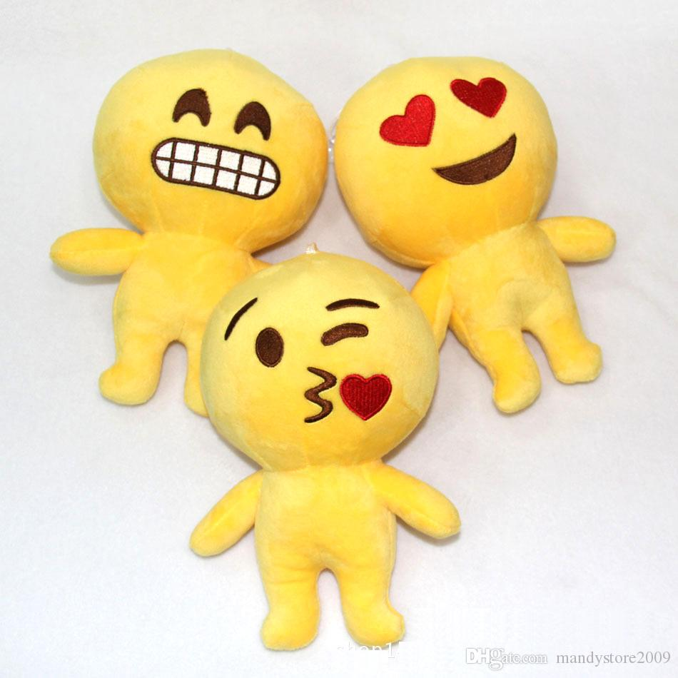 2019 Plush Emoji Pillow Toys Emoji Stuffed Dolls Plush Pillow Emoji