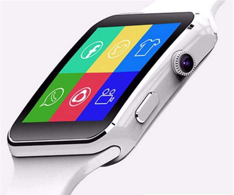 X6 Smart Watch Men Women kids SIM Card Curved Screen Alloy Bluetooth Clock Phone Watch Call Pedometer Smart Bracelet PK DZ09 A1 Smartwatch