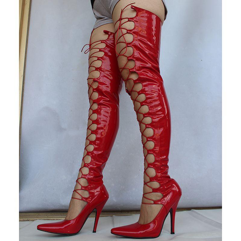 Wonderheel более 71 см длина обувь секс фетиш перетащить Королева 12 см 5