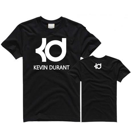 Kevin Durant Basketball T-shirt Hommes KD NO.35 Jersey À Manches Courtes Sport T-shirts Coton Fitness Hip Hop Tops T-shirts AMD266