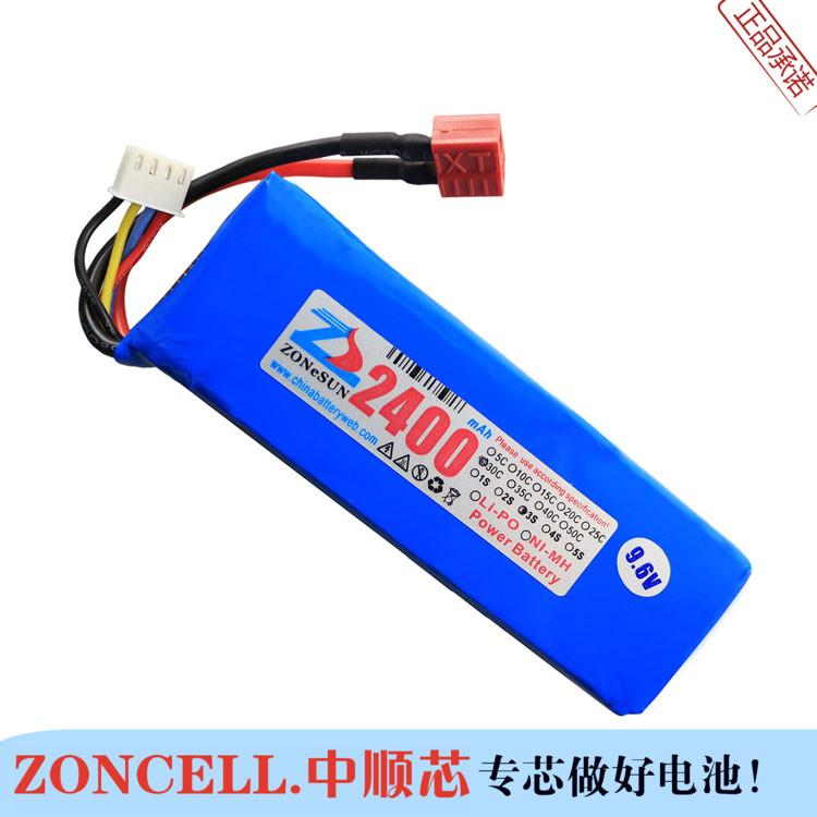 In the 9 6V 2400mAh core power polymer lithium iron battery model CS  helicopter aerial vehicle